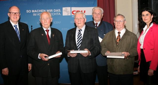 60 Jahre in der CDU, eine herausragende Leistung!