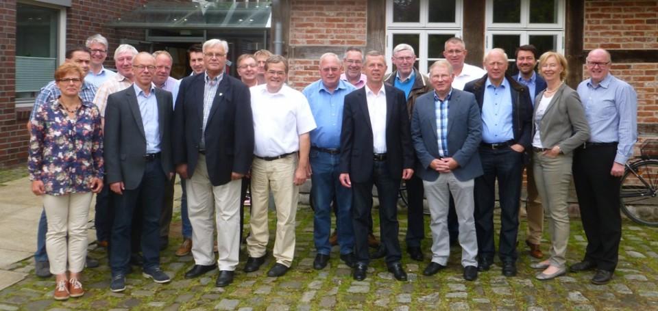 Teilnehmer der Klausurtagung der CDU Kreistagsfraktion am 28. Juni 2014