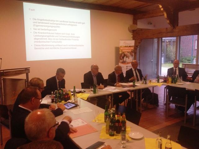 Diskussion CDU Kreisvorstand und Kreistagsfraktion, Thema Krankenhäuser