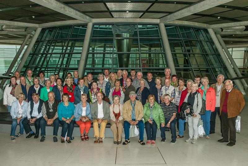 Südoldenburger auf der Fraktionsebene des Reichstagsgebäudes