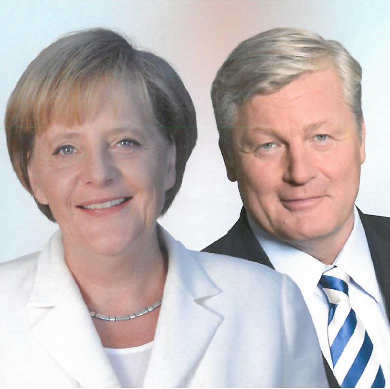 Angela Merkel und Bernd Althusmann