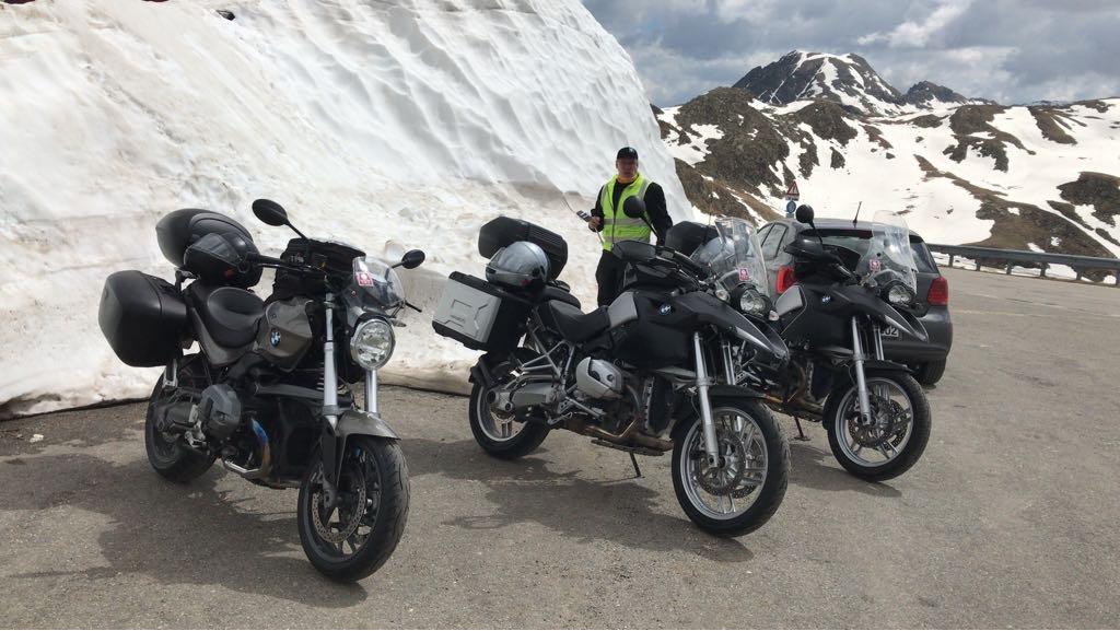 KGF Walter Goda auf einer Alpen-Tour