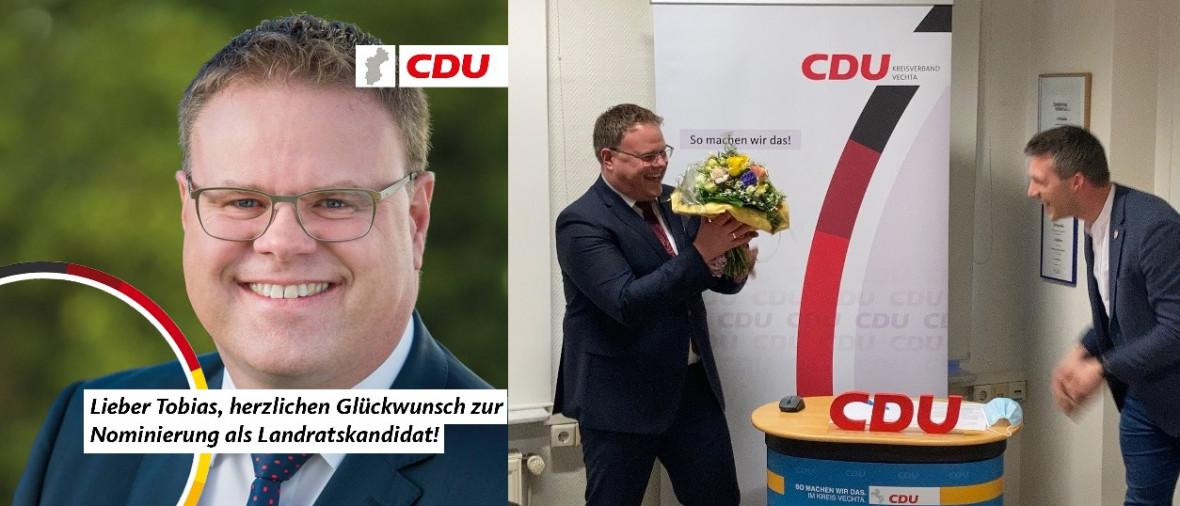 Tobias Gerdesmeyer ist Landratskandidat der CDU!